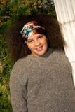 Fille de l'adolescence d'Afro-américain Images libres de droits