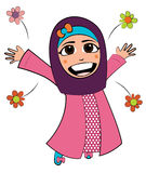 Fille de l'Islam Images libres de droits