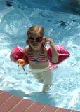 Fille de lunettes Image libre de droits