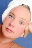 Fille de massage Photographie stock libre de droits