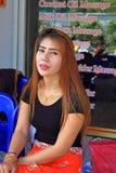 Fille de massage, Thaïlande images libres de droits