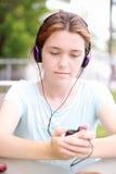 Fille de musique Photo libre de droits