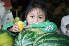 Fille de Myanmar Images stock