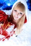 Fille de neige photos libres de droits