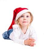 Fille de Noël Image libre de droits