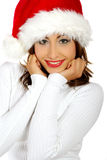 Fille de Noël Photo libre de droits