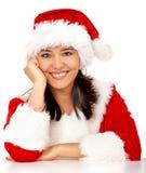 fille de Noël Photographie stock