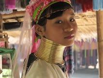Fille de Padaung Image libre de droits