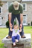 Fille de papa Photo libre de droits