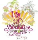 FILLE DE PARADIS Images stock