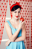 Fille de pin-up Photos stock