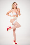 Fille de pin-up Images stock