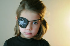 Fille de pirate Images stock