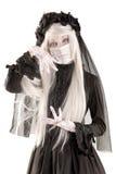 Fille de poupée de veuve Images libres de droits