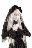 Fille de poupée de veuve Image libre de droits