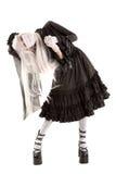 Fille de poupée de veuve Photographie stock