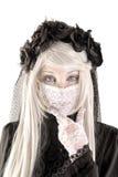 Fille de poupée de veuve Photo stock