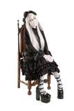 Fille de poupée de veuve Photographie stock libre de droits