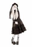 Fille de poupée de veuve Images stock