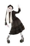 Fille de poupée de veuve Photos stock