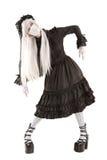Fille de poupée de veuve Image stock
