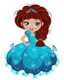 Fille de princesse Photographie stock