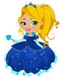 Fille de princesse Images libres de droits