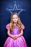 Fille de princesse Images stock