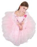 fille de robe rosâtre Photographie stock libre de droits