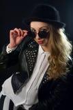 Fille de rockabilly photo stock