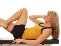 Fille de santé et de forme physique photos stock