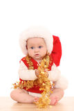 Fille de Santa Photographie stock
