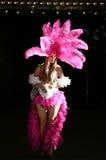 Fille de scène de Las Vegas photo stock
