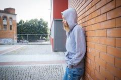 Fille de solitude Photographie stock libre de droits