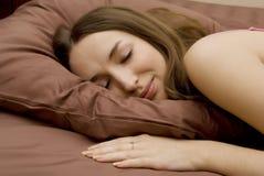 fille de sommeil Photos libres de droits
