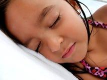 Fille de sommeil Photographie stock
