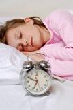 Fille de sommeil Image stock