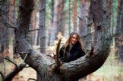 Fille de sourire Photo libre de droits
