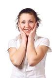 Fille de sourire Image libre de droits