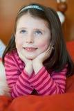 Fille de sourire Photographie stock