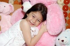 Fille de sourire Photographie stock libre de droits