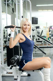 Fille de sport Photos stock
