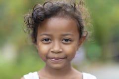 Fille de tribu d'Asli d'orang-outan petite photos libres de droits