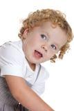 Fille de trois ans photographie stock