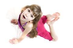 Fille de yoga Photo libre de droits