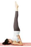 Fille de yoga Images libres de droits