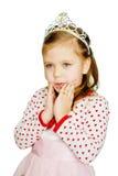 Fille douce de princesse Photos stock