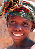 Fille en Afrique Photos stock