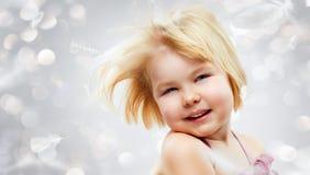 Fille en bonne santé Images stock
