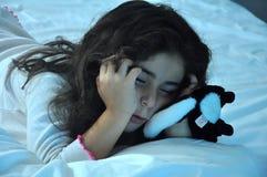 Fille en sommeil Photographie stock libre de droits